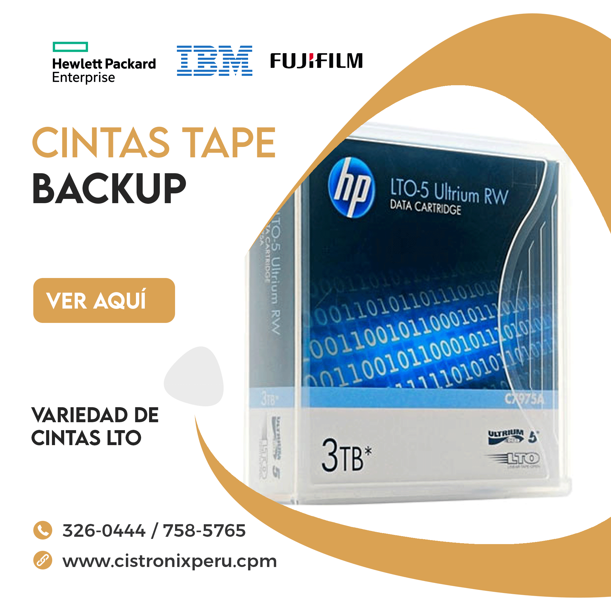 CINTAS TAPE BACKUP